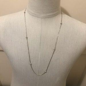 Jewelry - Vintage Sterling silver snake necklace.